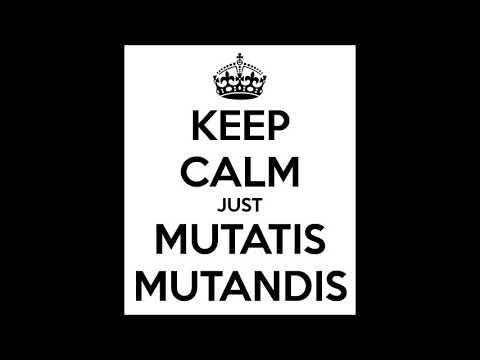 Mutatis και mutandis